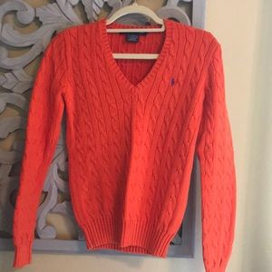 Cable knot Ralph Lauren sweater. Small. Used.